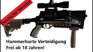 """Selbstverteidigung - Survival - BRANDNEU: Die unfassbar coole """"Micro Commando"""" Armbrust (Steambow"""