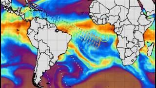 Large Mimic Wave Anomaly Over Quake Struck British Virgin Islands