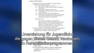 Umerziehung für Andersdenkende - EU Gesetzesvorschlag