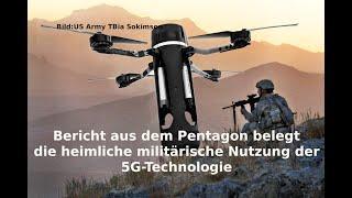 Bericht aus dem Pentagon belegt die heimliche militärische Nutzung der 5G-Technologie ☢