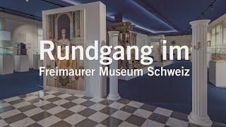 Rundgang im Freimaurer Museum Schweiz