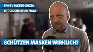 FPÖ-TV-Fakten-Check: Schützen Masken wirklich?