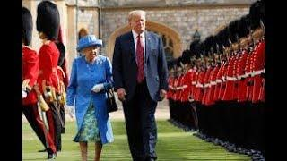 """SIR"" Donald Trump Knighted (2016) by the Queen for Services Rendered to England...Anyone ??"