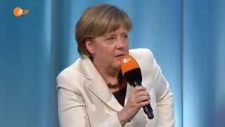 Merkel spricht die Zwangsmitgliedschaft (GEZ) an