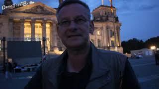 """Rüdiger Hoffmann und Billy Six mit Live Team am Abend nach dem """"Sturm auf den Reichstag"""" Part 1"""