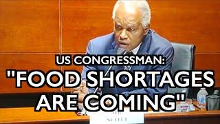 "US Rep: ""Food Shortages Are Coming"" - Crops Destroyed - UK Limits Purchases"