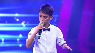 Türkischer Junge singt herzzerreissend schön /  O Ses Çocuklar Final - Şahin Kendirci 'Keskin Bıçak'