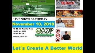 Let`s Create A Better World! - United We Start Roundtable Discussion November 10, 2018