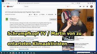 Trailer: Schrumpfkopf TV / Entartete Klimaaktivisten im Berliner Flughafen am 10.11.2019 ...