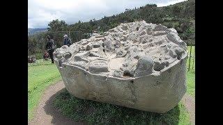 Megalithic Monuments At Sayhuite In The Highlands Of Peru