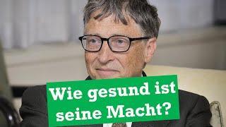 Bill Gates Stiftung: Die Kritik im Faktencheck!
