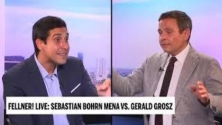 Die Klimakommunisten und ihr Bonzenleben - Gerald Grosz in oe24.tv Fellner Live