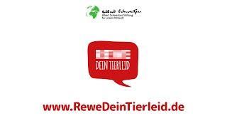 Bitte unterschreibt den Protest !  So leiden Hühner für den REWE Konzern - Hannes Jaenicke