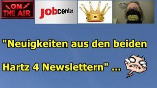 """""""Neuigkeiten aus den beiden Hartz 4 Newslettern!"""" ..."""