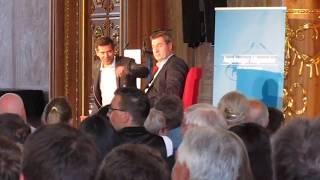 Ministerpräsident Söder zu Artikel 25 Grundgesetz im Goldenen Saal zu Augsburg