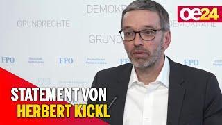 11.5.2021 - Herbert Kickl zur aktuellen politischen Lage