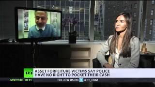 Verrückt ! US-Polizeibeamte beschlagnahmen Besitztümer von Bürgern im großen Stil