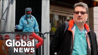 """Coronavirus outbreak: New York doctor says 9/11 was """"nothing"""" compared to COVID-19"""
