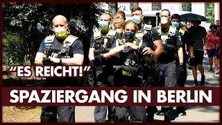 """""""Es reicht!"""" - Spaziergang mit Verhaftungen"""