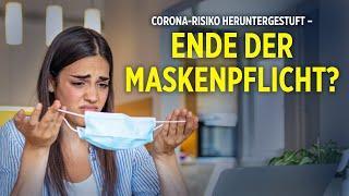 RKI stuft Corona-Risiko herunter – Wann fällt die Maskenpflicht?