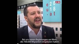 """M. Salvini: """"Europa wird sich bei den nächsten Wahlen gründlich ändern"""""""