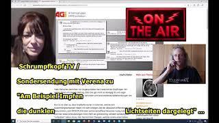 """Schrumpfkopf TV / """"Sondersendung mit Verena zu den dunklen Lichtseiten"""" ..."""
