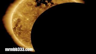 "What was that ""strange"" object in front of the Sun?"
