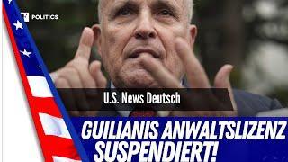 Rudy Guiliani verliert Lizenz