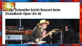 """Chapeau! Helge Schneider bricht Konzert ab - """"Kein Kontakt zum Publikum ist fadenscheinig und dumm!"""