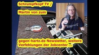 Trailer: Schrumpfkopf TV / Martin von zu weiteren Jobcenterfirmenverfehlungen ...