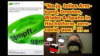 """""""Na ja, tolles Armband, Drosten, Wieler & Spahn in Höchstform, zero-covid, usw.!!!"""" ..."""