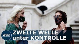 CORONA IN ITALIEN: Maskenpflicht im Freien soll auf das ganze Land ausgeweitet werden