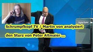 Trailer: Schrumpfkopf TV / Martin von zu Peter Altmaiers Sturz — hier meine Analyse ...