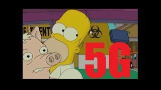 Simpsons - 5G Is 'Coronavirus'