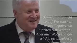 """Horst Seehofer CSU  """"Man muss Gesetze komplizierter machen"""""""