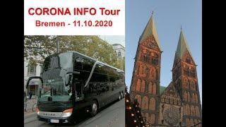 CORONA INFO Tour - Bremen - 11. Oktober 2020