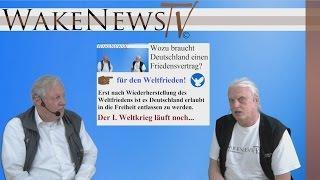 Wozu braucht Deutschland einen Friedensvertrag? Interview mit Holger Ditzel Wake News Radio/TV