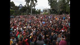 Migrant Caravan Gets Violent At US Border, Mexico Citizens Lose Cool (Full Compilation)