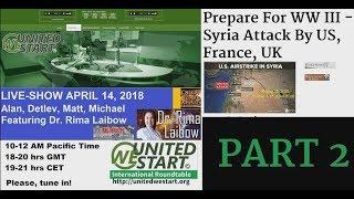 UWS LIVE Show 20180414 Featuring Dr. Rima Laibow PART 2