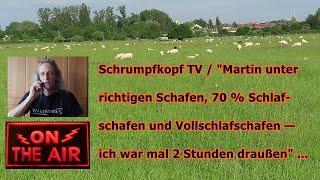 """Trailer: """"Martin unter richtigen Schafen, 70 % Schlafschafen und Vollschlafschafen"""" ..."""