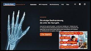 Trailer: Schrumpfkopf TV / Wo sind die so wichtigen Alltagshelden, Bank sponsert Verchippung ...