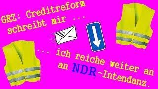 GEZ: Creditreform schreibt mir - Post für NDR-Intendanz