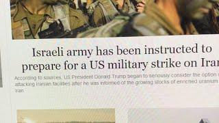 I hope this is not true - ISRAEL preparing for War with IRAN?