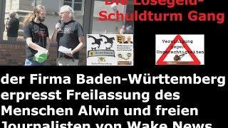 Die Lösegeld-Schuldturm Gang  Fa. Bad.-Württ. - Lösegeld Alwin
