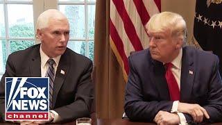 Trump, Pence address public on coronavirus after meeting with pharma execs