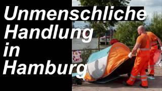 Obdachlose entsorgt. Hamburg. Kein Gutmensch weit und breit.
