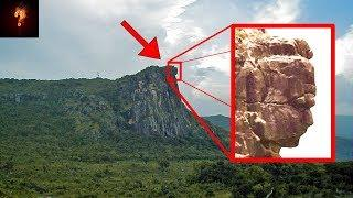 12000 Yr Old Mountain Sized Statue Found In Africa?