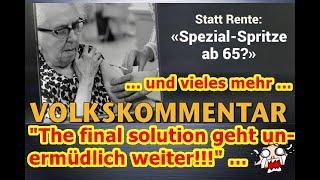 """""""Mit Giftspritze Rentenauszahlungen verhindern und vieles mehr!!!"""" ..."""