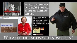 Warum niemand mehr Steuern in der BRiD/Bund zahlen sollte! - Wake News Radio/TV 20150416