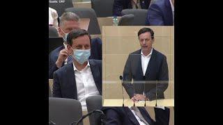 ÖVP total bloßgestellt: Abgeordneter wischt mit Schutzmaske den Tisch ab!